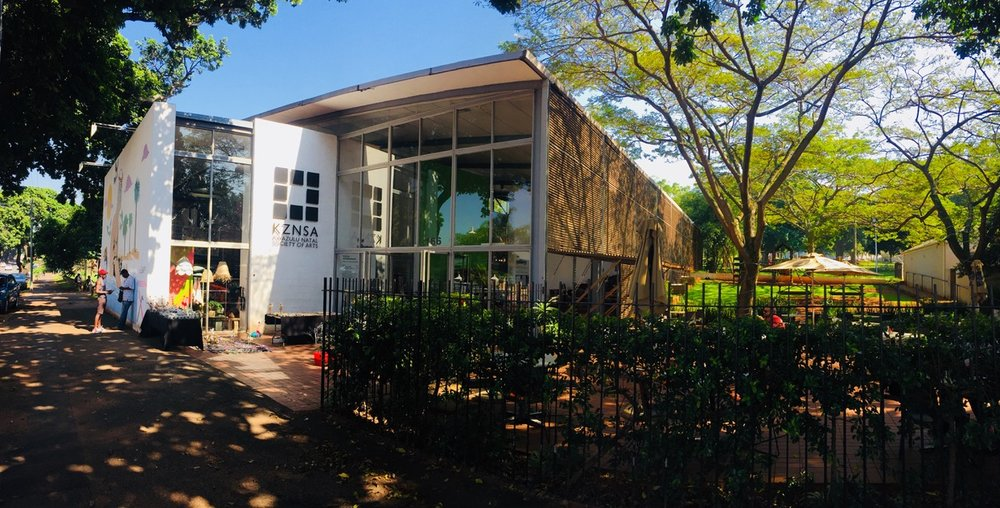 T he KZNSA Gallery : founded in 1902 as an artists run space, it now functions as Durban's most important contemporary art gallery, with a shop providing local only craft and design. It is one of a group of organisations which has taken on its municipality for its lack of support.
