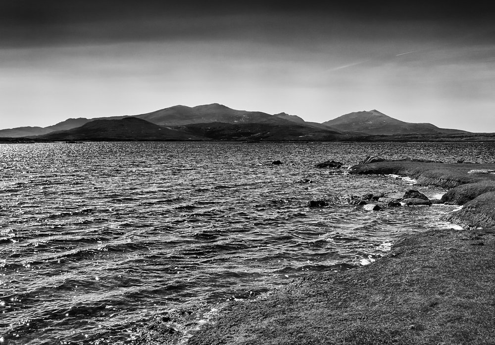 Loch Bee towards South Uist, Mark Farrington 2016