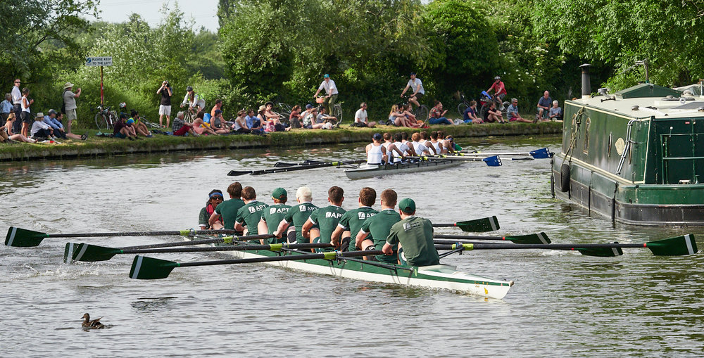 Rounding Ditton Bend