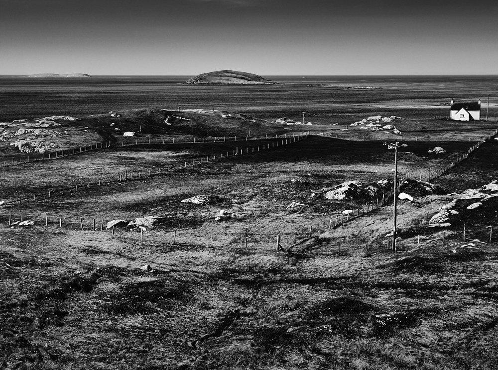 Fields, Eriskay. Mark Farrington, 2017