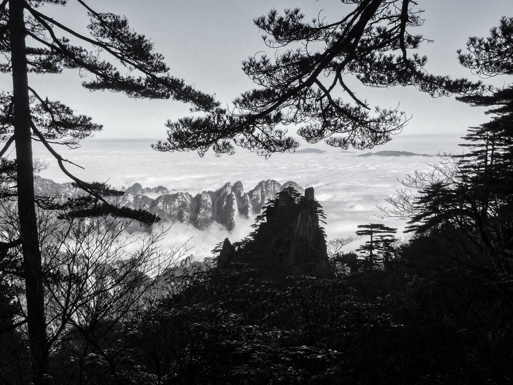 黄山 - Huangshan - Yellow Mountain, China