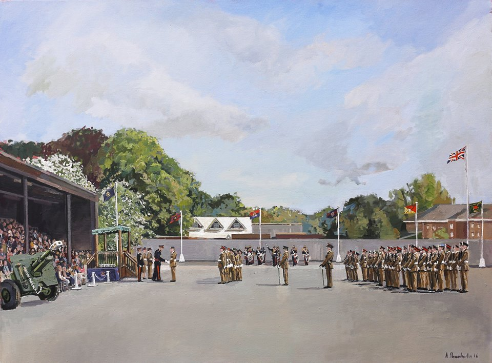 Pirbright Pass Off Parade