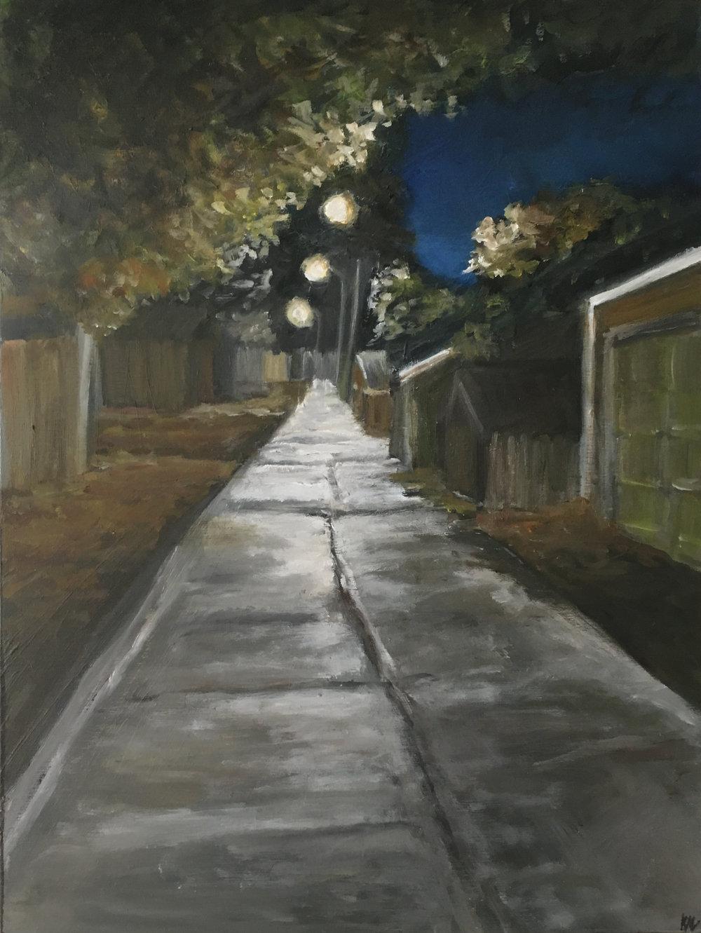 An Autumn Alley