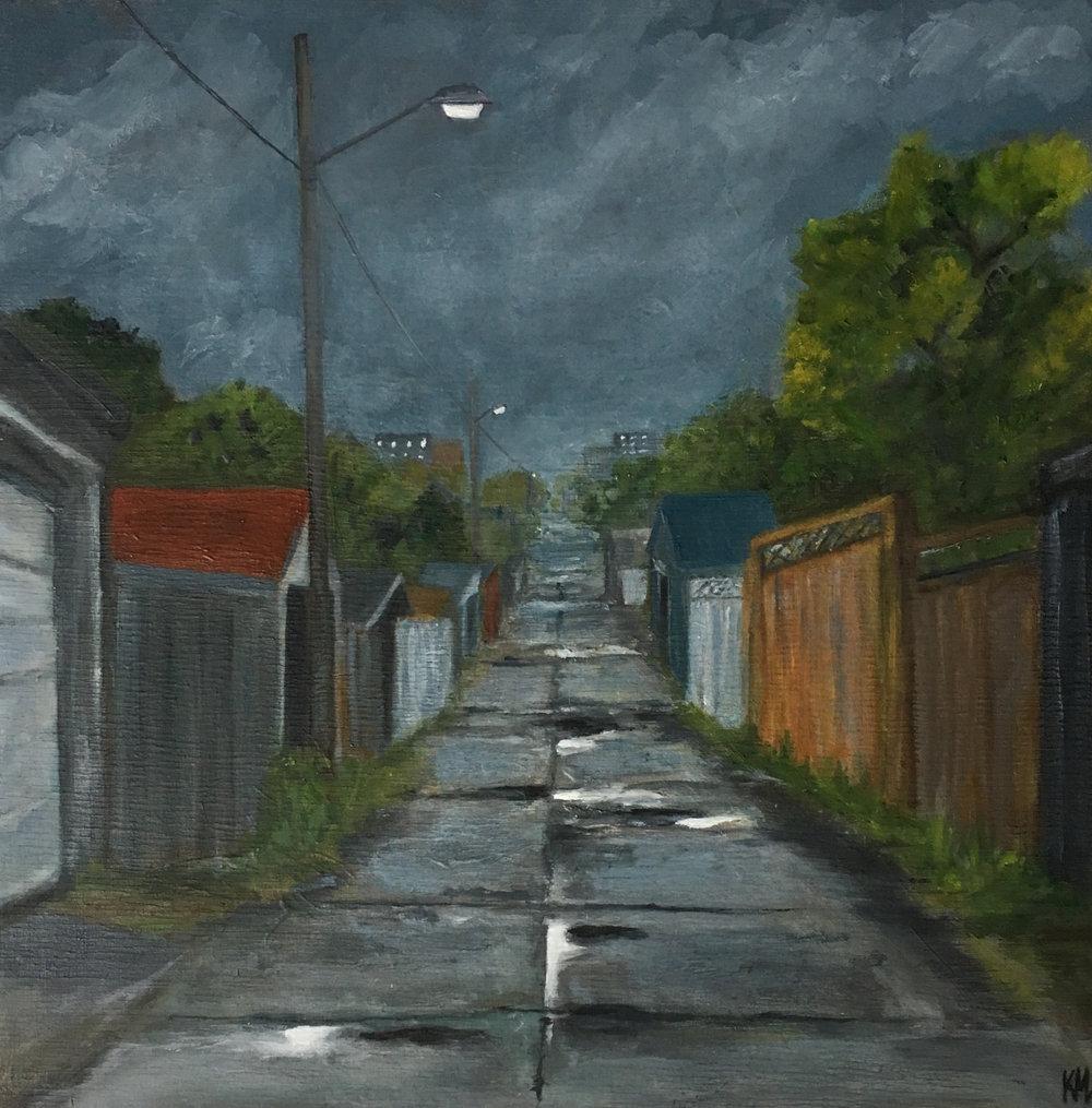A Break From The Rain