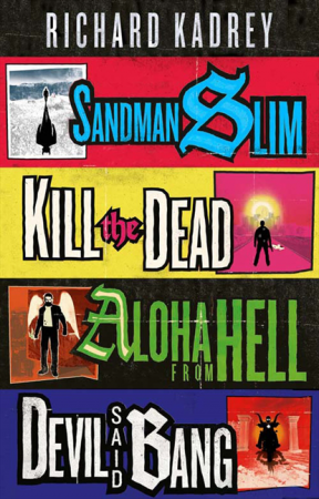 Only half of the Sandman Slim series, the best in urban fantasy