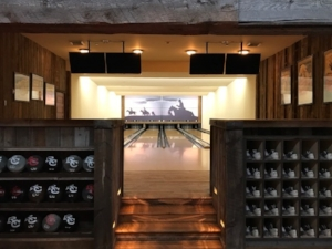 Bowling Alley in the Saloon