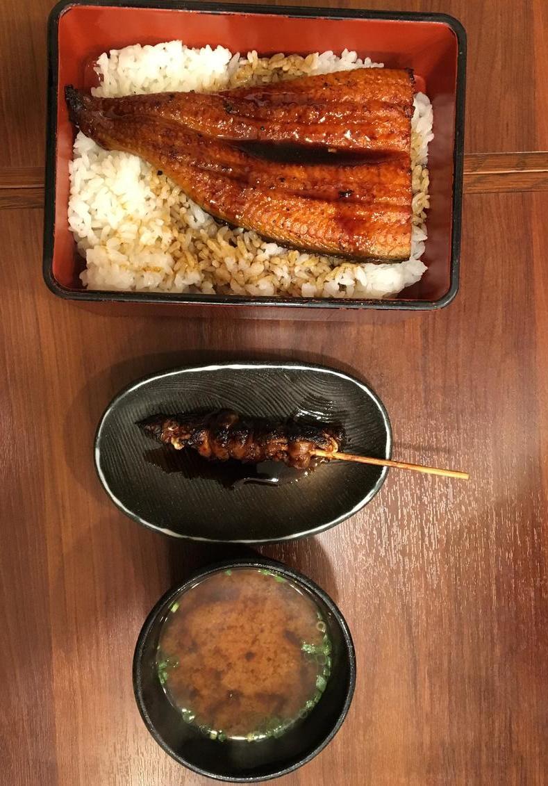Eel Specialty in Ueno
