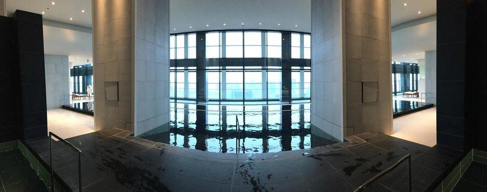 Pool Deck at Andaz Tokyo