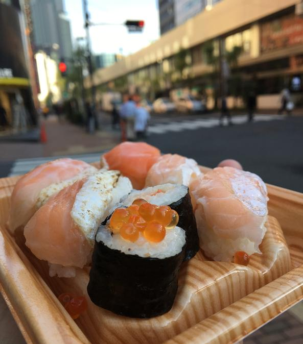 Sushi from Family Mart