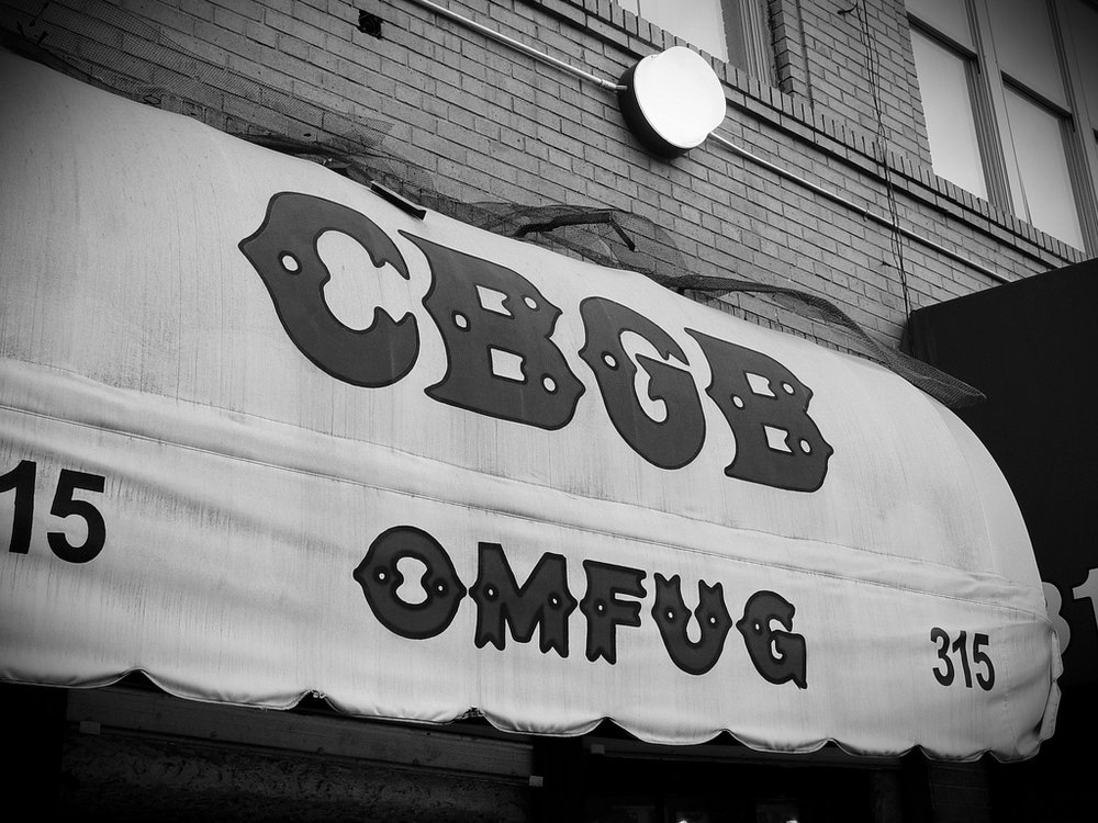 NYC Punk Mecca, CBGB