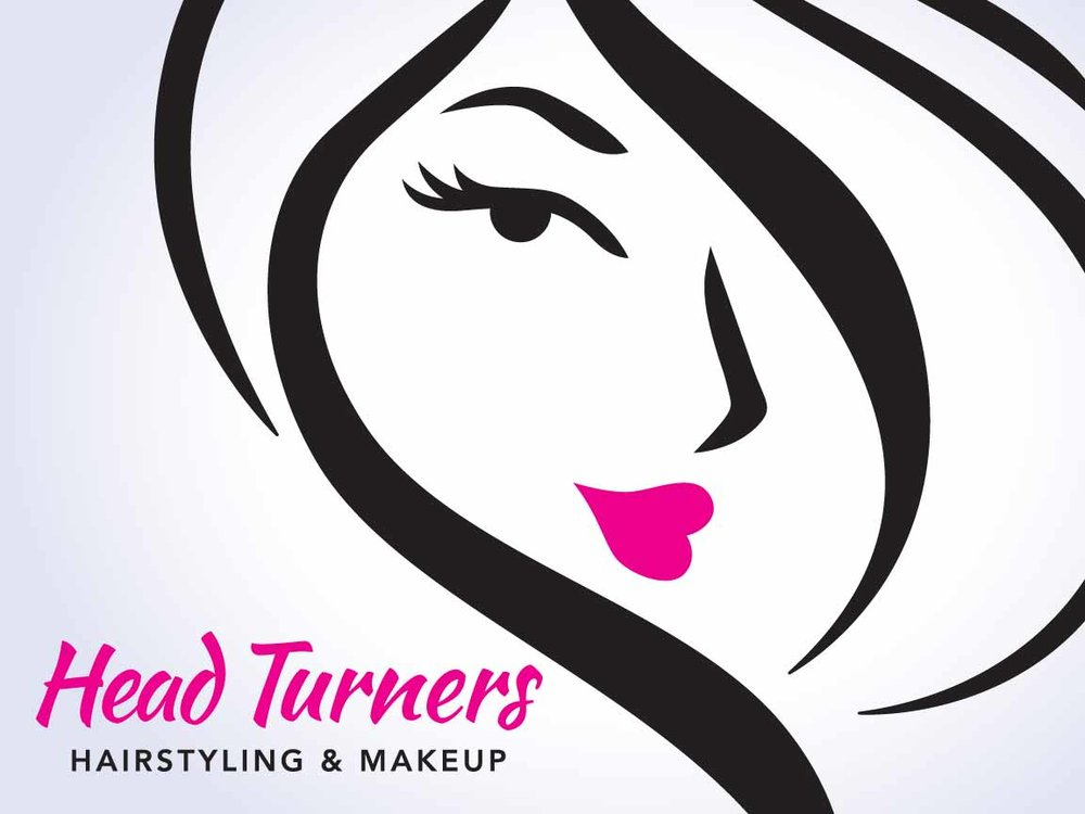 Head Turners Salon Logo & Website