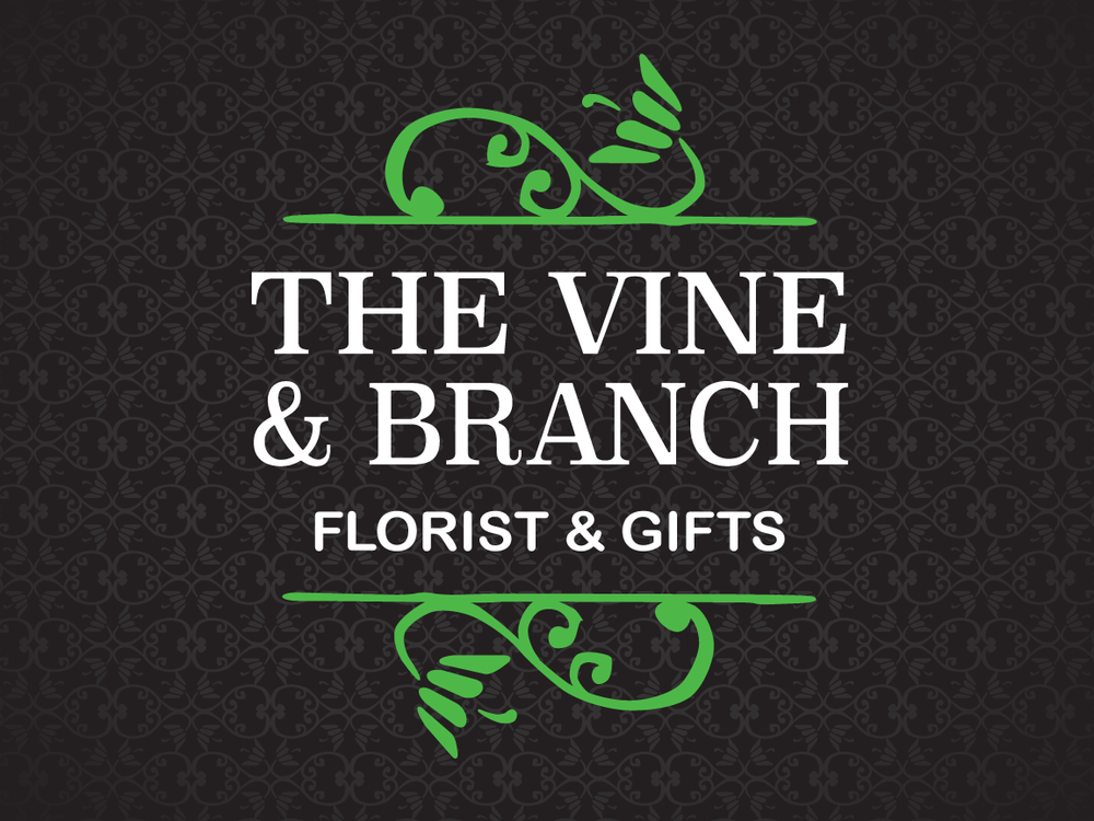 The Vine & Branch Florist Logo, Identity & Print Collateral