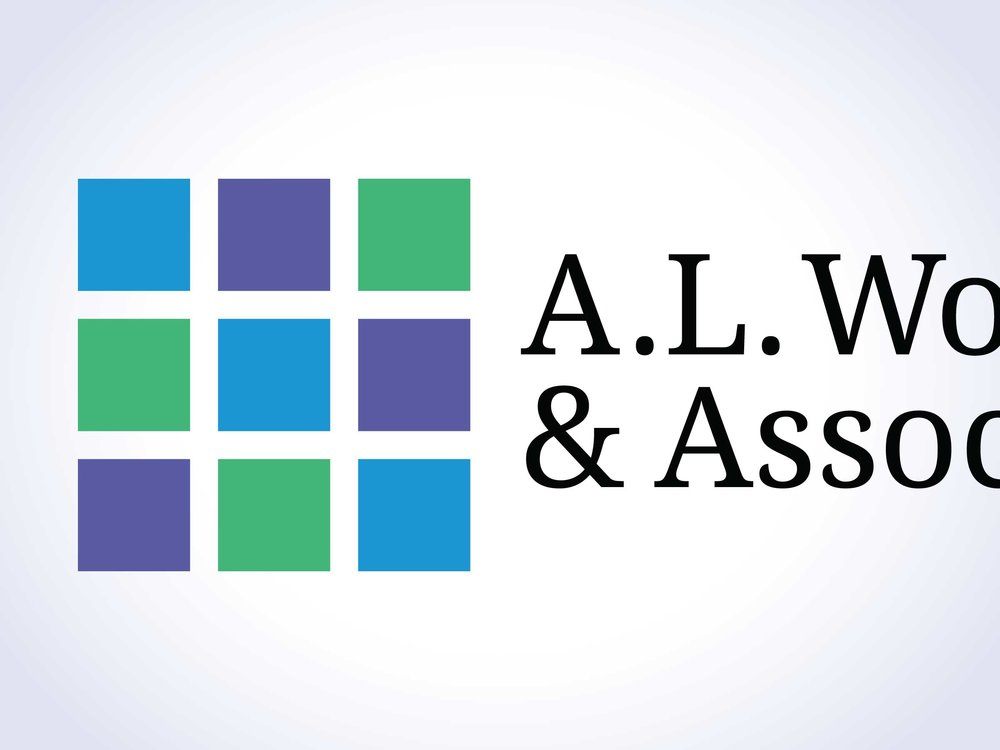 A.L. Wood & Associates Logo, Identity, Website & Signage
