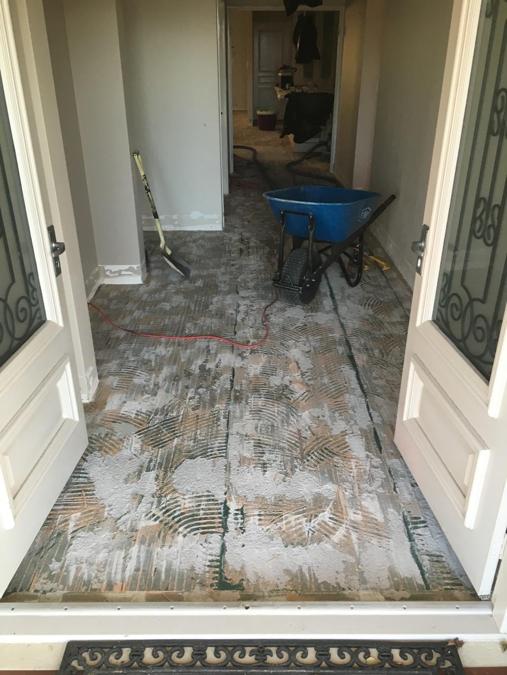 tile remove