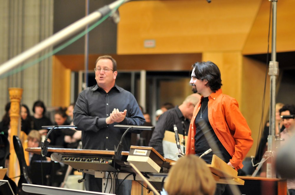 With Bear McCreary at the Fox Newman Scoring Stage-2.jpg