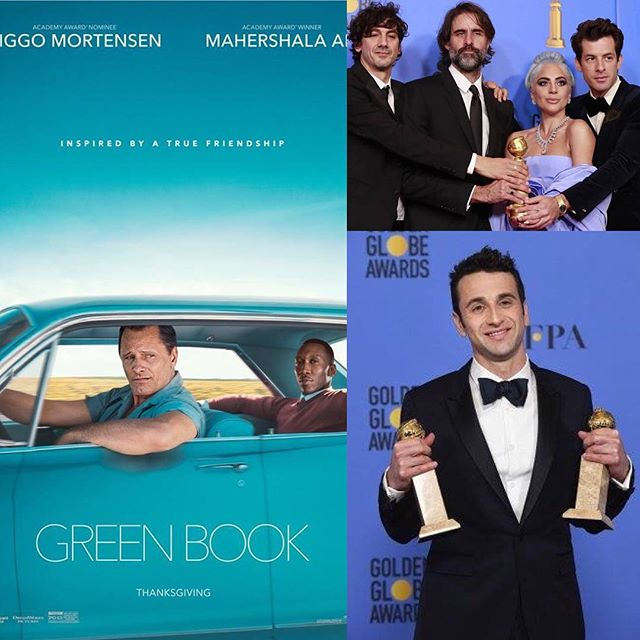 "Congratulations to our clients and colleagues on a wonderful night of movie appreciation and awards at the @Golden globes. We are especially proud to see projects we've worked on recognized by the Golden Globes: @greenbookmovie Green Book (Best Motion Picture Musical or Comedy) @krisbowersmusic, #JustinHurwitz' Best Original Score for @firstmanmovie, and Best Original Song ""Shallow"" from @starisbornmovie. Continued congratulations to all those nominated and those projects we had the pleasure of working on (@blackkklansman / @terence_blanchard, @blackpanther / @ludwiggoransson, @crazyrichasians / @briantylermusic, @wreckitralph / #henryjackman @alanmenken, @aquietplacemovie / #marcobeltrami.) #goldenglobes #filmmusic"