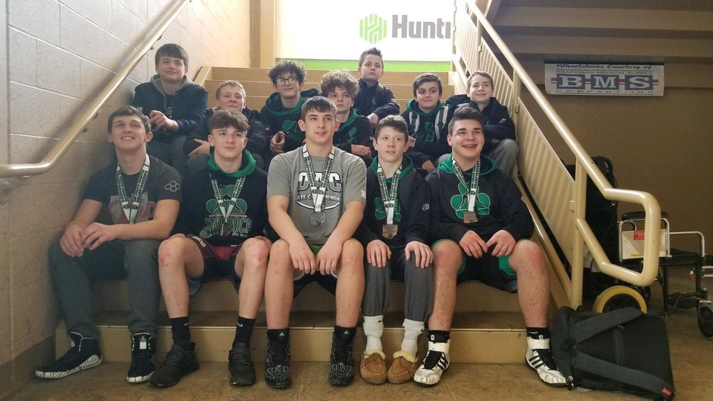 2019 Jr High State Qualifiers and Placers!