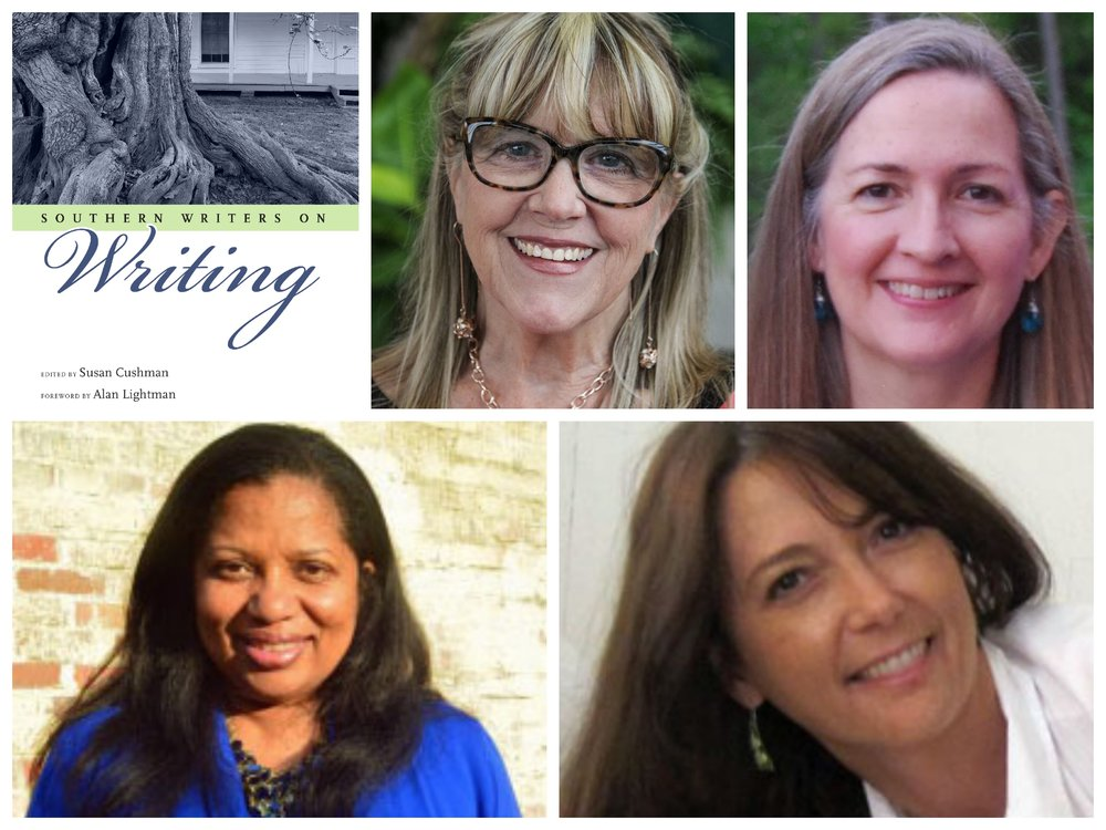 Featured   Southern Writers   (clockwise from top left): Susan Cushman, Jennifer Horne, Wendy Reed & Jacqueline Allen Trimble.