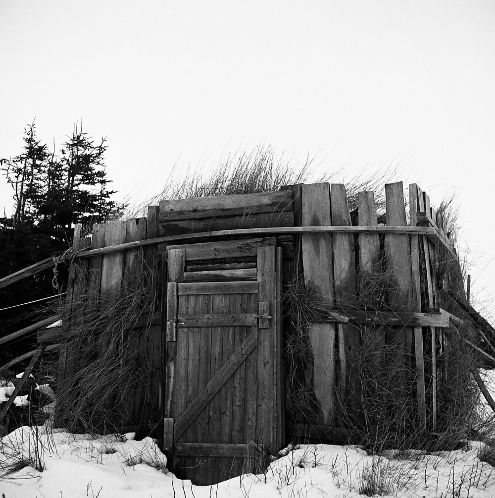 Root cellar, Change Islands, Newfoundland