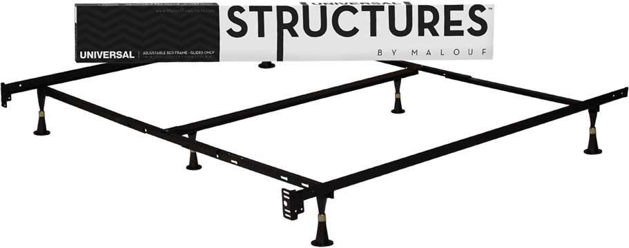 malouf universal metal bed frame
