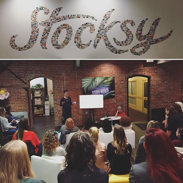 Thank you to everyone who came out for Levelling Up: Professional Development Strategies last night, as well as an extra special thanks to @melishamer for an amazing presentation and discussion, and to @stocksyunited for letting us use their incredible space!  #yyjtechladies #womenintech #professionaldevelopment #learning #workshop #yyjevents #yyjtech #stocksy