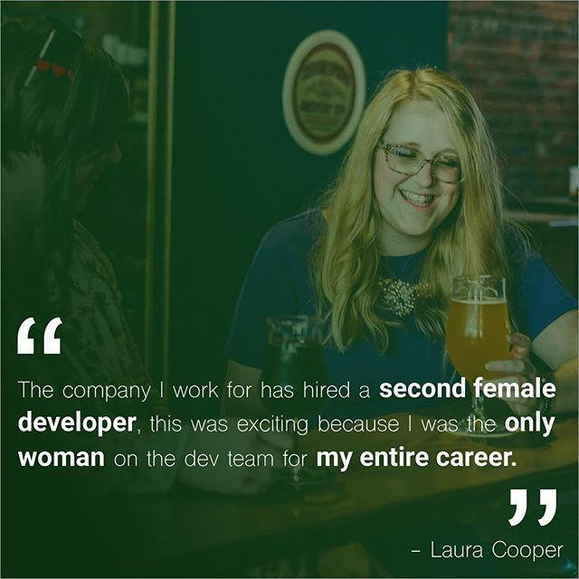 """To countdown to the new year, we asked some of our community and board members to tell us what their favourite #YYJTechLady thing was about 2018. Next up we have @euphorialjc! . """"The company I work for has hired a second female developer, this was exciting because  I was the only woman on the dev team for my entire career."""" . #yyjtechladies #womenintech #weddev #developer"""