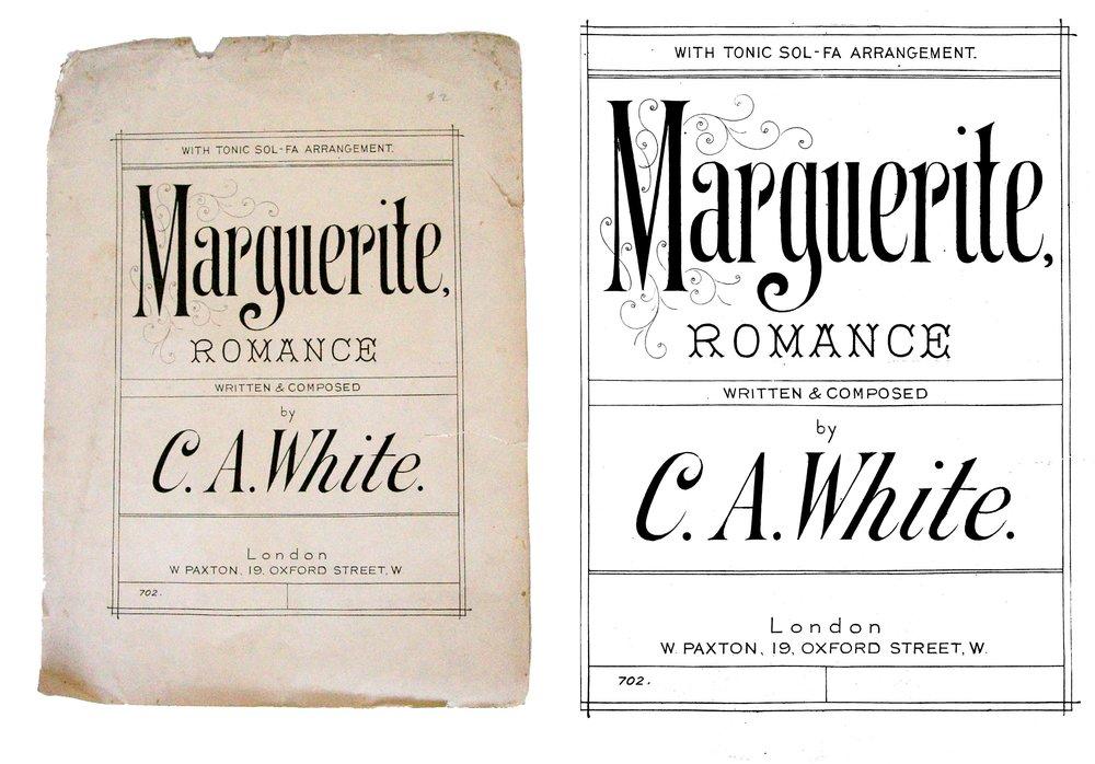 Marguerite…isn't she jaunty?!
