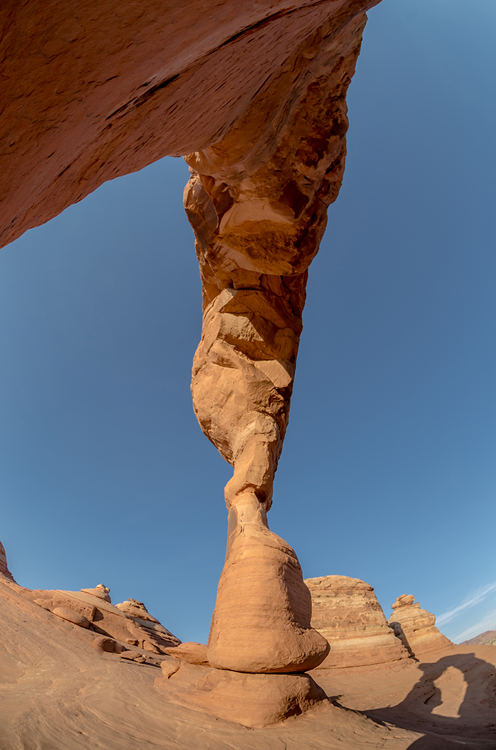 Thin Leg of Delicate Arch, Arches National Park