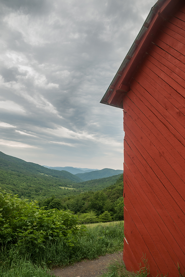 Over mountain Shelter, Appalachian National Scenic Trail
