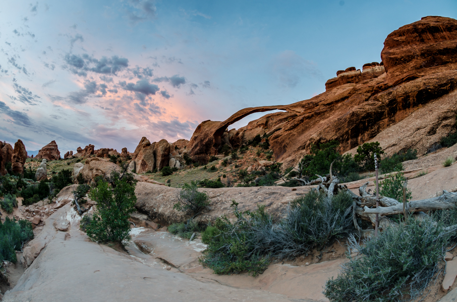 Landscape Arch in Morning