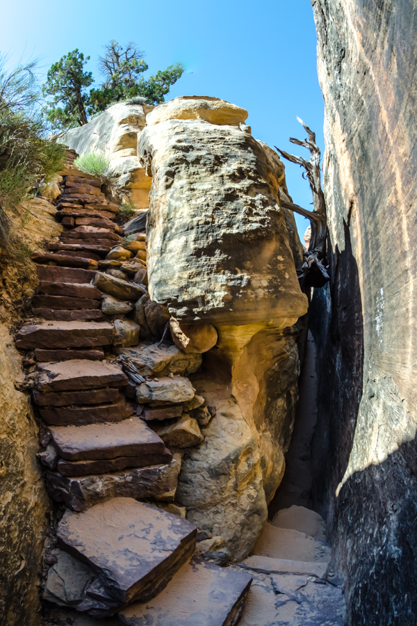 Fisheye Exit from Slot Canyon