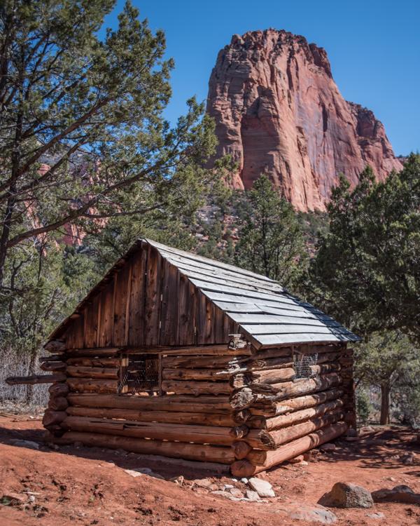 Larson Cabin Ruin in Zion