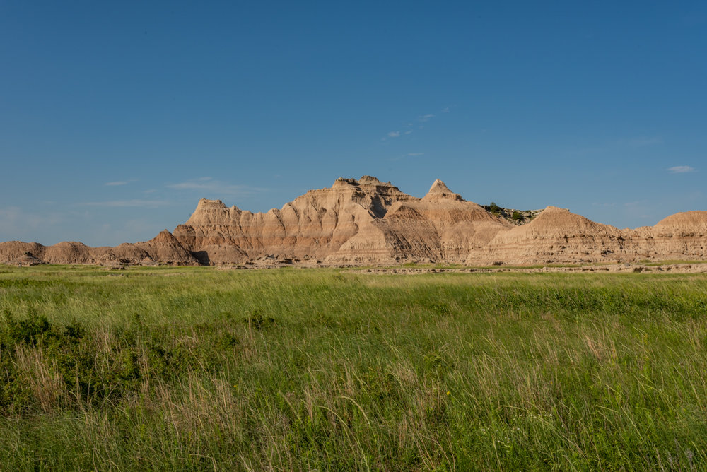 Wide view of Badlands Formation
