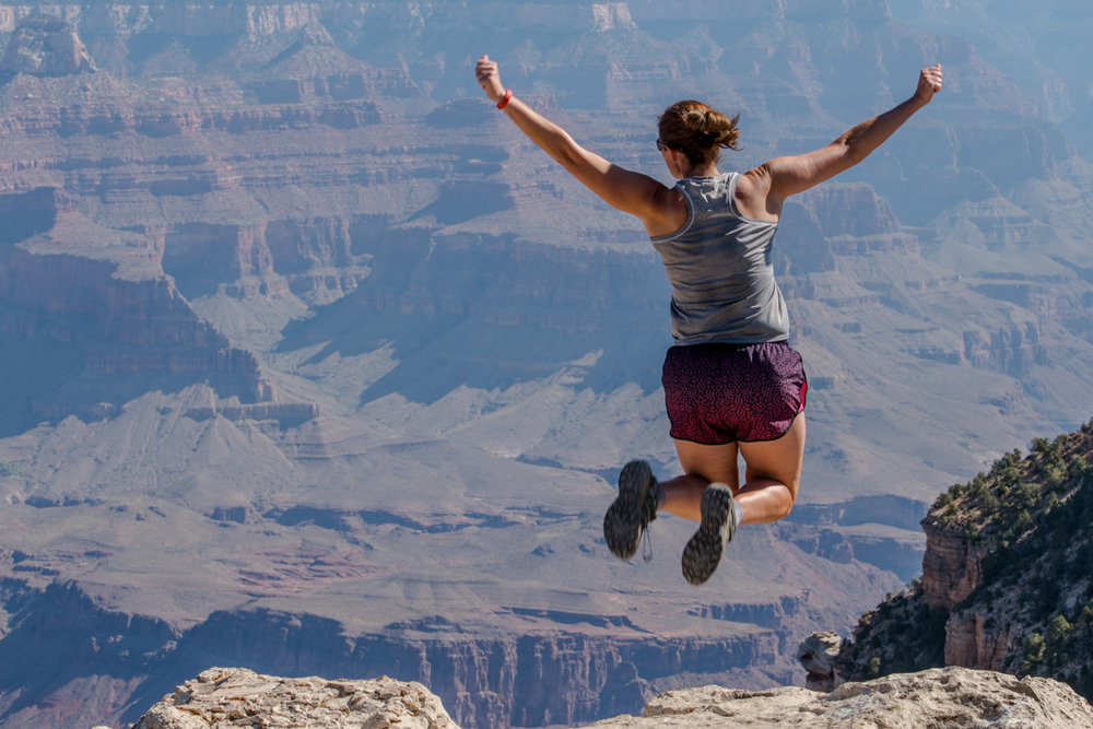 Leaping Over the Rim of the Grand Canyon