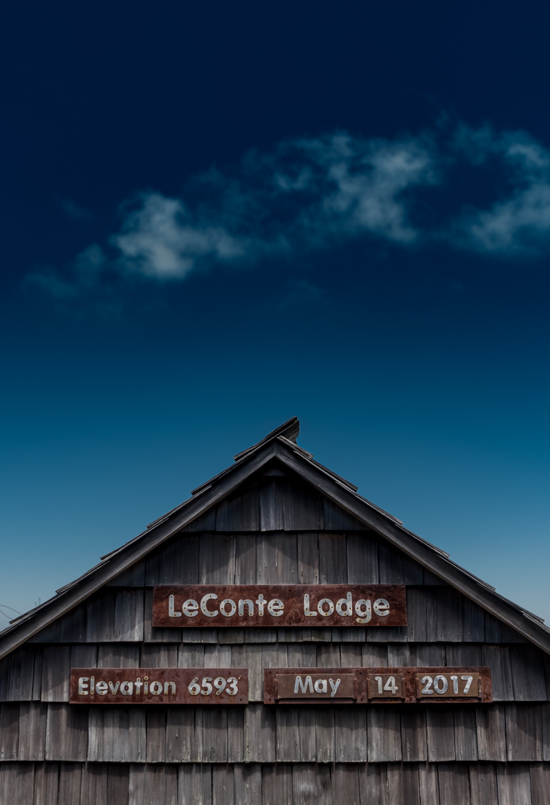 LeConte Lodge and Blue Sky