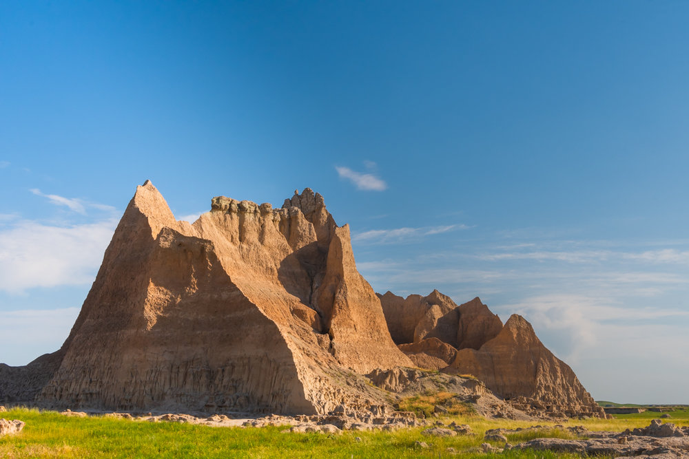 Hoodoo Formation and Blue Sky