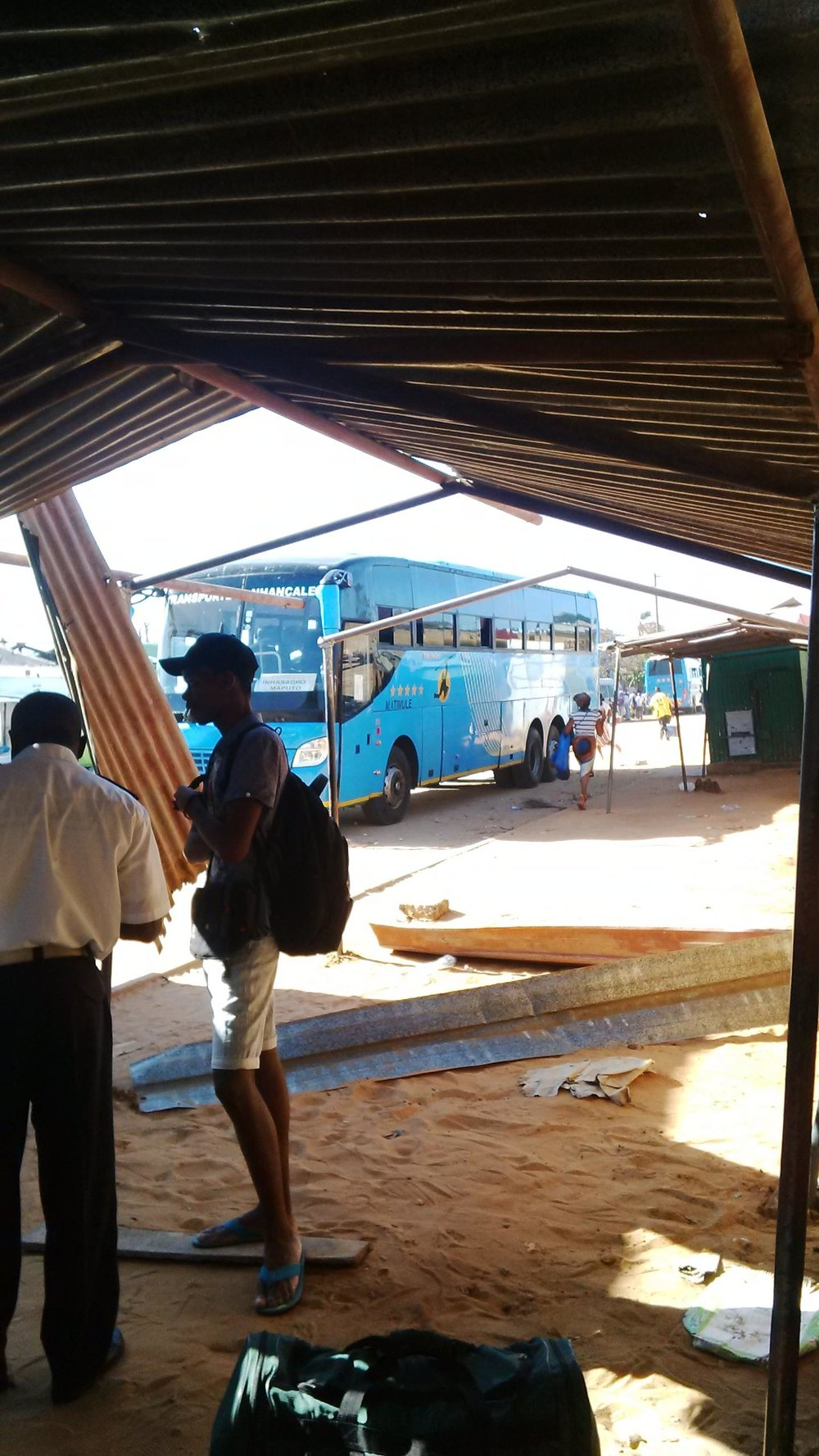 Maxixi bus stop