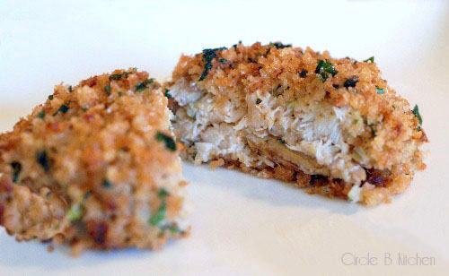 Crab cakes baked recipe