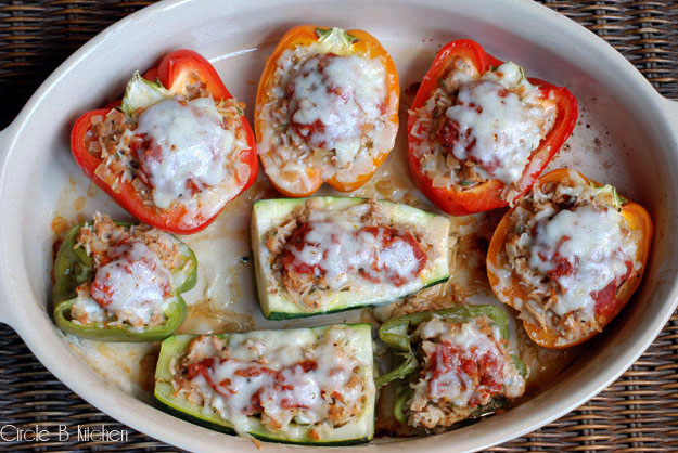 Old School Stuffed Peppers Circle B Kitchen