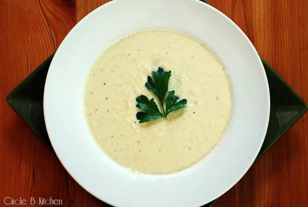 Creamy Artichoke Soup — Circle B Kitchen