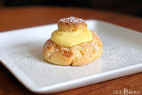 coconut pie cream puffs