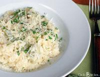 creamy artichoke risotto