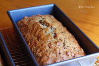 Beautiful Zucchini Bread