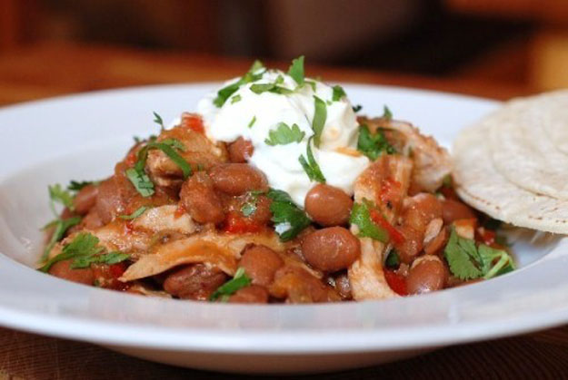 Slow-Cooked Tex-Mex Chicken and Beans — Circle B Kitchen
