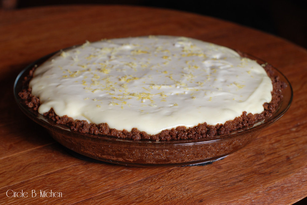 Snappy Lemon Cheesepie