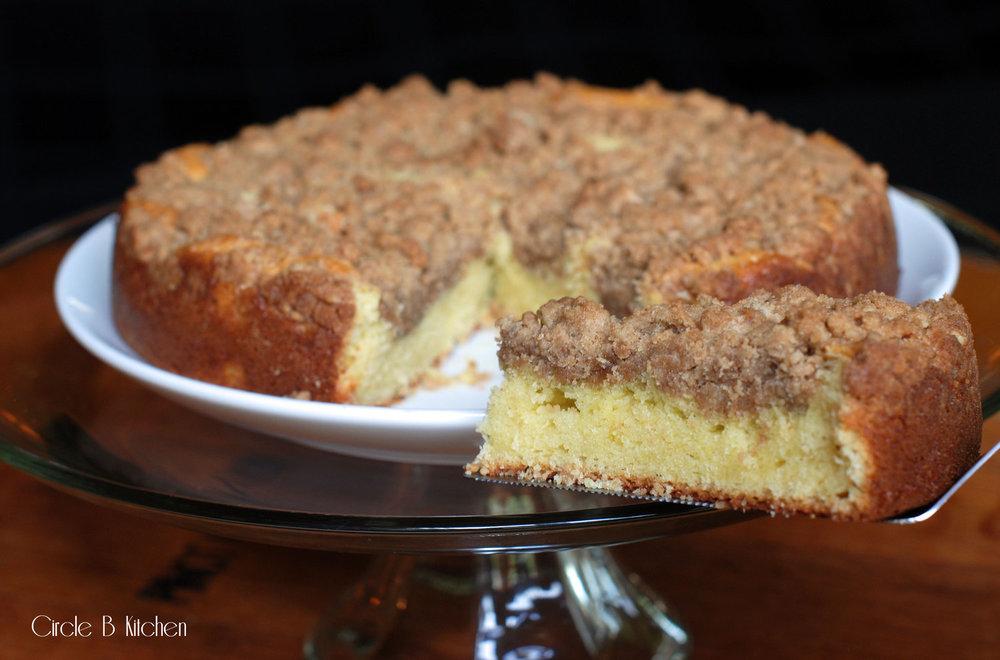 New York-Style Crumb Coffee cake