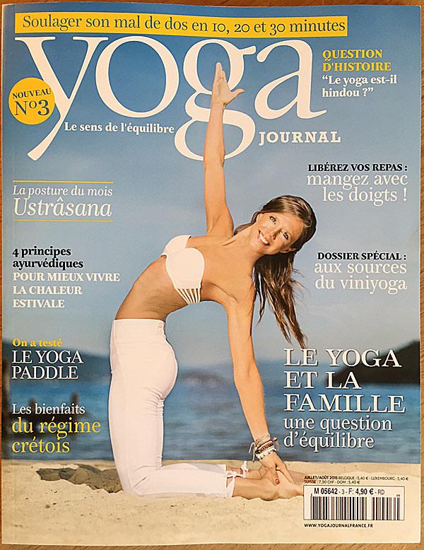 """"""" Le yoga et la famille, une question d'équilibre """" pour le studio de yoga INNERCITYOGA à Genève"""