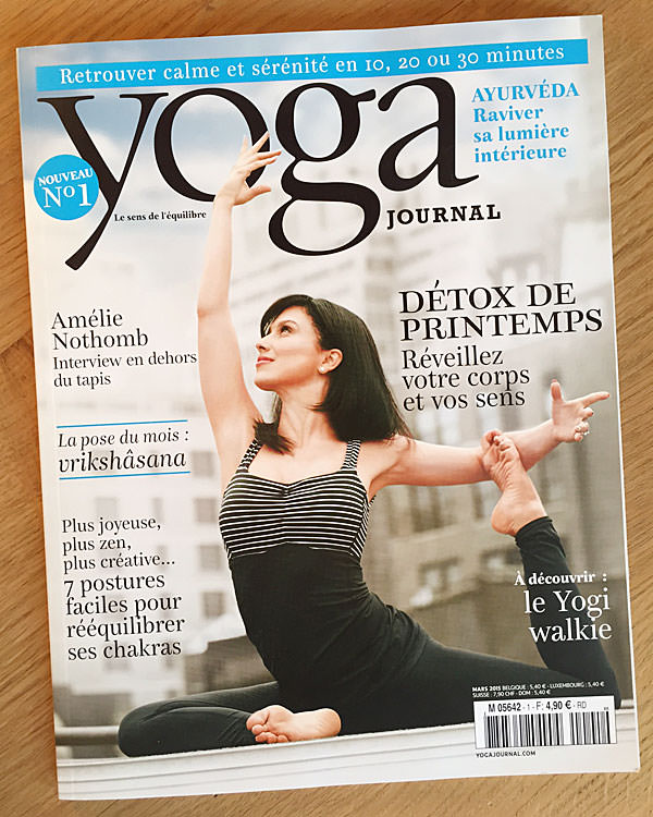 INNERCITYOGA® dans Yoga Journal France