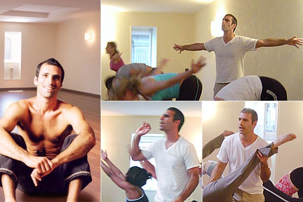 Bryan Kest, a close friend at INNERCITYOGA sharing the love for yoga and movement.