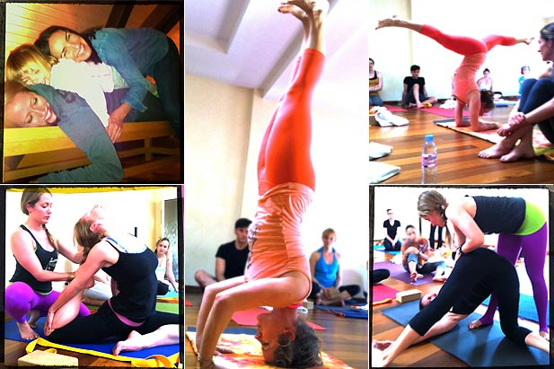 Laughter and Vinyasa with Kathryn Budig at INNERCITYOGA